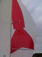 WB-sails spinnu/2 2006, 2 m/s