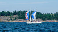 s/y Anneli and s/y Melissa racing on LM 2016, 2.7.2016